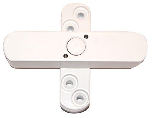 bever stuco safe fenstersicherung 2 fluegelig weiss 21sw - Bever Stuco Safe Fenstersicherung, 2-flügelig, weiß, 21SW
