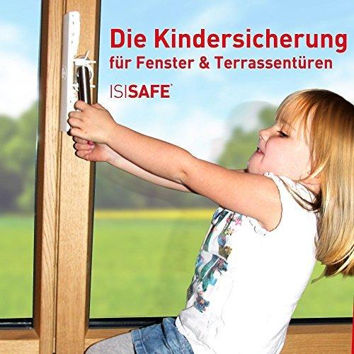 isi safe die kindersicherung fuer fenster ohne bohren - ISI SAFE - die Kindersicherung für Fenster - ohne Bohren!